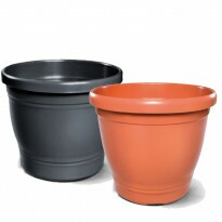 Vaso Plástico Redondo - Primavera - N05 - 22,0x25,0cm - 8,0 L