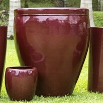 Vaso Fibra de Vidro - Redentor - 87 alt x 76 diâm - Diversas Cores - Rotogarden