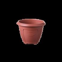 Vaso Romano - Mini - Diam 12 - Alt 9,5 cm - Cor Cerâmica