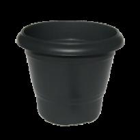 Vaso Terracota - N02 - Alt 25 cm - Cor Preta