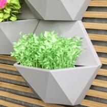 Módulo para Jardim Vertical Favo 35x30,3 cm - Cor Cimento