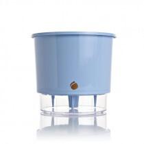 Vaso Autoirrigável WISHES T3 Médio - Cor Azul Serenity