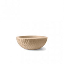 Vaso Infinity Concha Alt 19 - Diam 52 cm - 16 Litros - Areia