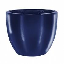 Vaso Fibra de Vidro - Verona 66 - 56 alt x 66 diâm - Azul Riviera