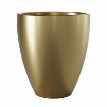 Vaso Frankfurt em Cerâmica Ouro
