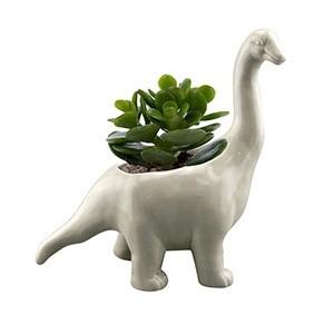 Cachepô Animals Brachiosaurus em Cerâmica mini