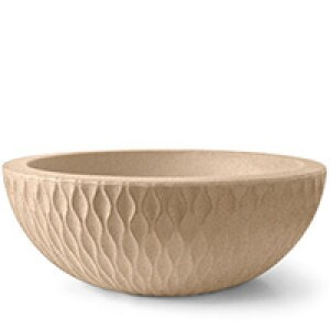 Vaso Infinity Concha N27 - 27x75 cm - 54 L - Areia