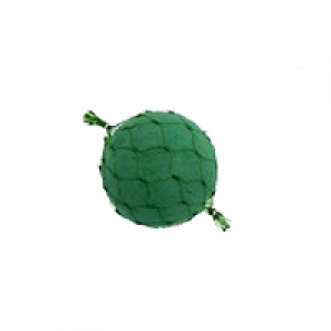 Espuma Floral Bola Diâm 12 cm com Rede