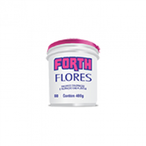Forth Flores - Fertilizante NPK 06-18-12 + 9 Nutrientes - 400 g