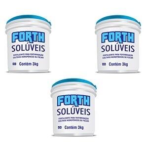 Forth Solúvel - Inicial + Vegetativo + Reprodutivo - 3 Kg