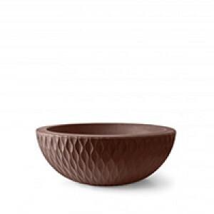 Vaso Infinity Concha N19 - 19x52 cm - 16 L - Tabaco