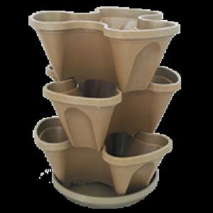 Jardineira Vertical - PlastGarden - Areia