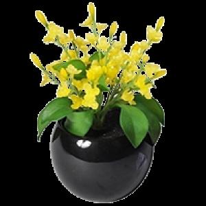 Vaso em Cerâmica com Planta Artificial - KF0006