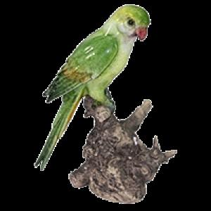 Pássaro Decorativo em Cerâmica 16x10x22 cm - KY0007