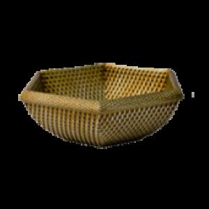 Cachepô Rattan 6 Natural T2 - L1114