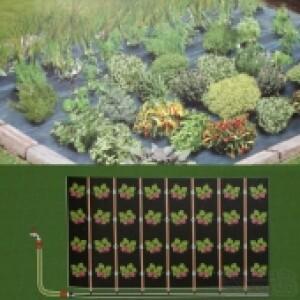 Kit Micro Irrigação - Manta com gotejadores - 2,4x3m