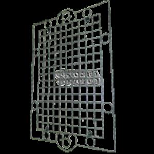 Painel Treliça - Suporte de Parede para vasos Planta Viva - 106x76 cm