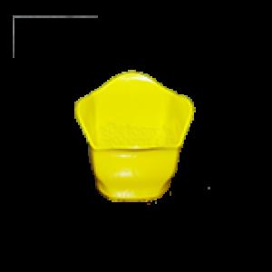 Cachepô Mini 06 - Amarelo - PlastPot