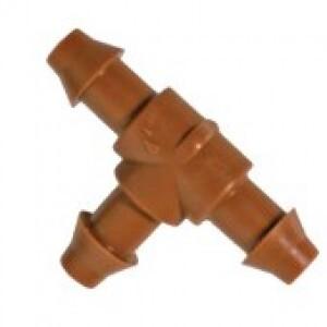 Conexão T - 8mm - 5 unidades - 1323 - Elgo