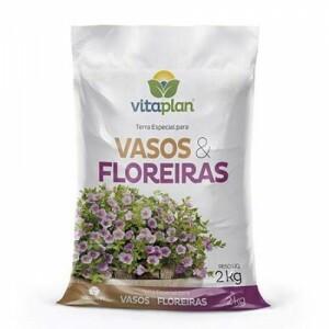 Substrato para Vasos e Floreiras - 2kg