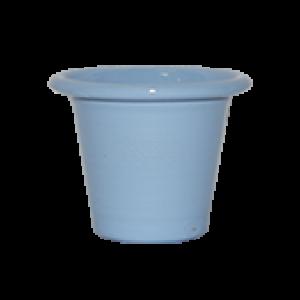 Mini Vaso de alumínio - N0 - Cor Azul Bebê