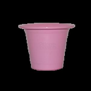 Mini Vaso de alumínio - N0 - Cor Rosa Bebê