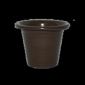 Mini Vaso de alumínio - N0 - Cor Marrom