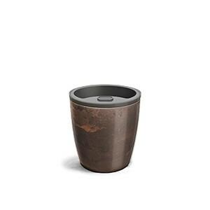 Vaso Autoirrigável 12,5x15,4 - Elegance - Cor Café Imperial