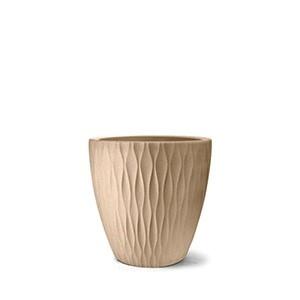 Vaso Infinity Redondo N50 - 50x50 cm - 70 L - Areia