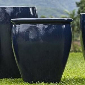 Vaso Fibra de Vidro - Romano M - 68 alt x 56 diâm - Diversas Cores - Rotogarden