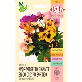 Amor-perfeito Gigante Suíço Crespo Sortido - 0,08g (Ref 320)