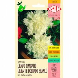 "Cravo ""Chabaud"" Gigante Dobrado Branco 0,1g (Ref 368)"