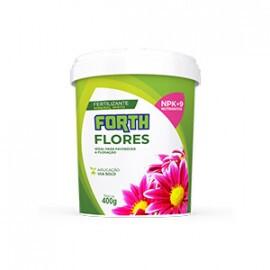 Forth Flores - Fertilizante NPK 06-18-12 + 9 Nutrientes - 400 g