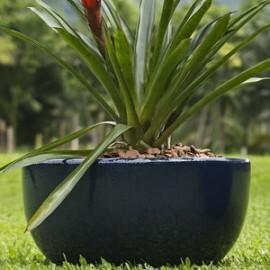 Vaso Fibra de Vidro - Bacia 80 - 32 alt x 80 diâm - Diversas Cores - Rotogarden