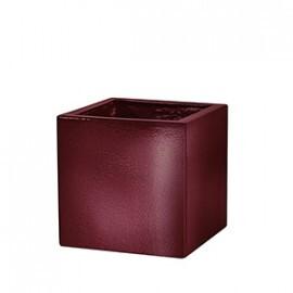 Cachepô Quadrado P - Fibra de Vidro - 28,5x28,5x28,5 cm - Diversas Cores - Rotogarden