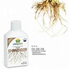 Enraizador (02-08-06 + ME + Algas Marinhas) - Fertilizante 140 ml - Vitaplan