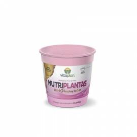 Fertilizante Premium Nutriplantas - NPK - 02-15-10 - Pote 1kg