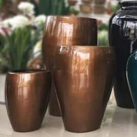 Vaso Fibra de Vidro - Firenze N2 - 63 alt x 44 diâm - Diversas Cores - Rotogarden