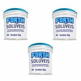 Kit Forth Solúvel - Inicial + Vegetativo + Reprodutivo - 9 Kg