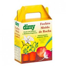 Fosfato Moído de Rocha Dimy 1kg