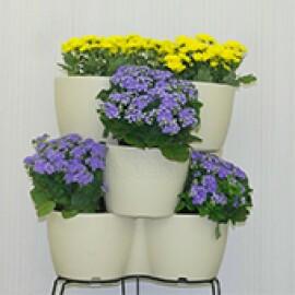 Jardineira Vertical - Horta Vertical - Marfim - Vasart