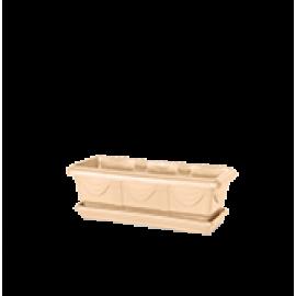 Jardineira 35 cm - Cor Bege