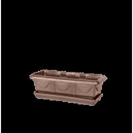 Jardineira 35 cm - Cor Tabaco