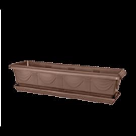 Jardineira 80 cm - Tabaco