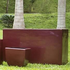 Jardineira Alta - Fibra de Vidro - 60 alt x 100x50 cm - Diversas Cores - Rotogarden