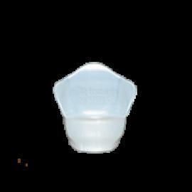 Cachepô Mini 06 - Branco Perolado - PlastPot