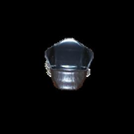 Cachepô Mini 06 - Preto - PlastPot