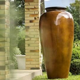 Vaso Fibra de Vidro - Pote 3 - 160 alt x 50 diâm - Diversas Cores - Rotogarden