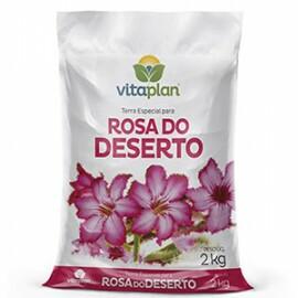 Terra Especial para Rosa do Deserto - 2 kg - Vitaplan