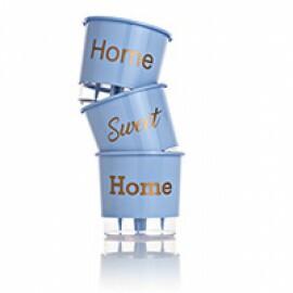 Trio Home Sweet Home - Autoirrigável T3 Médio - Cor Azul Serenity